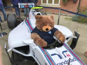 Richmond Village teddy mascot