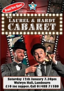 The Laurel & Hardy Cabaret @ The Walwyn Hall | Lambourn | England | United Kingdom