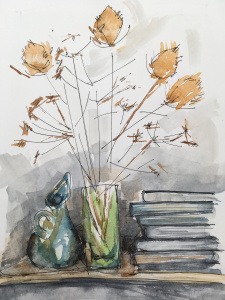 Further adventures with watercolours @ Hungerford Hub & Library | England | United Kingdom