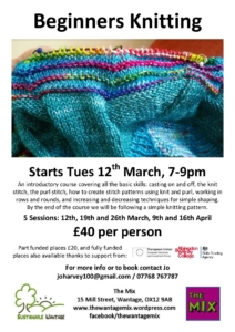 Beginners Knitting @ The Mix, Wantage | England | United Kingdom