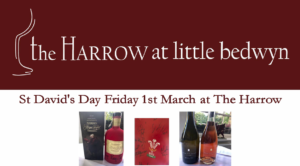St David's Day at The Harrow at Little Bedwyn @ The Harrow at Little Bedwyn | Little Bedwyn | England | United Kingdom