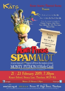 Spamalot - KATS @ Kennet School | England | United Kingdom