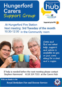 Hungerford Carers Support Group @ Hungerford Fire Station