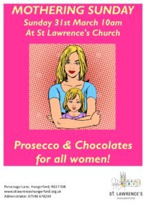 Mothering Sunday at Saint Lawrence, Hungerford @ St Lawrence's Church   England   United Kingdom