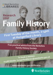 Research your Family History @ Hungerford Library | England | United Kingdom