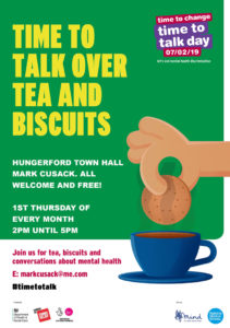 Hungerford Time to Talk @ Magistrate's Room, Hungerford Town Hall