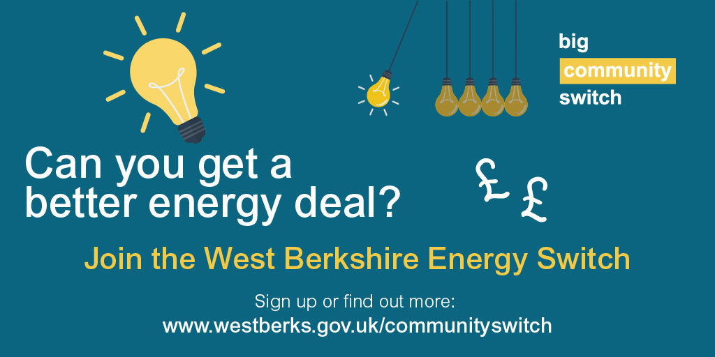West Berks Energy Switch poster