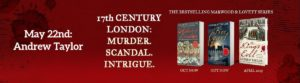 Crime Writer Andrew Taylor on his bestselling Restoration Trilogy @ Hungerford Library