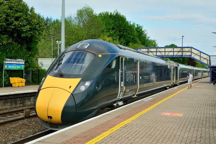 New Bedwyn Train - 1
