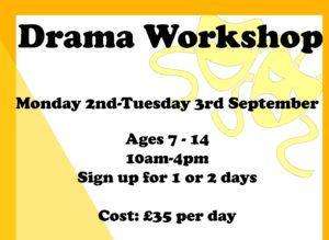 Holiday Drama Workshop @ Kintbury