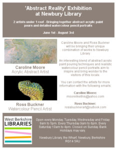 Abstract Reality Exhibition @ Newbury Library | England | United Kingdom