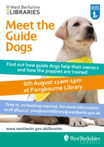 Meet the Guide Dogs @ Pangbourne Library | Pangbourne | England | United Kingdom