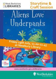 Aliens Love Underpants @ Newbury Library | England | United Kingdom