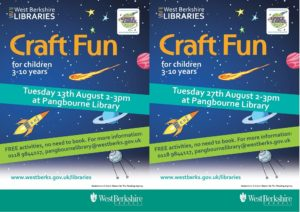 Craft Fun @ Pangbourne Library | Pangbourne | England | United Kingdom
