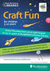 Craft Fun @ Burghfield Common Library | Burghfield Common | England | United Kingdom