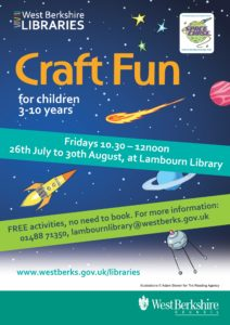 Craft Fun @ Lambourn Library | Lambourn | England | United Kingdom