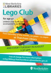 August Lego Club (Tuesdays) @ Thatcham Library | England | United Kingdom