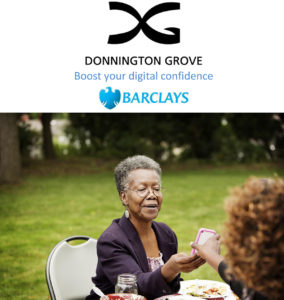 Free IT drop-in clinic with Barclays Digital Eagles at Donnington Grove: cream tea included @ Donnington Grove | Donnington | England | United Kingdom
