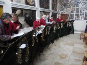 Christmas Service with local handbell ringing @ Sandham Memorial Chapel   Burghclere   England   United Kingdom