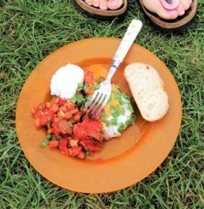 veg camping recipe egg 4 crop