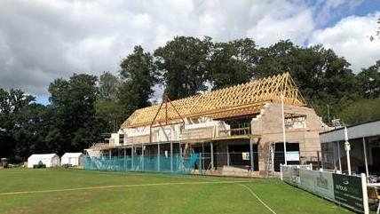 Falkland Cricket Club buy a brick
