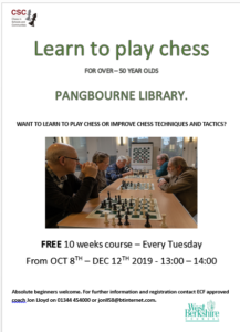 Chess Course for over 50's @ Pangbourne Library | Pangbourne | England | United Kingdom