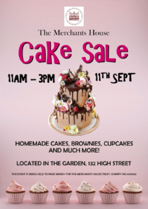 Cake Sale at The Merchant's House @ Merchants House | England | United Kingdom