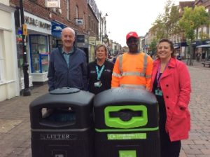new plastic recyling bins for west berks