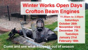 Crofton Beam Engines Winter Works @ Crofton Beam Engines | Crofton | England | United Kingdom