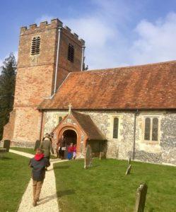 Life in the Ocean Wave @ St Mary's Church, Hamstead Marshall | Hamstead Marshall | England | United Kingdom