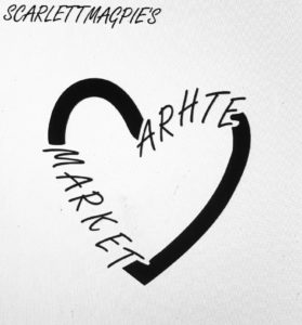 ScarlettMagpie's Arhte Market @ Hungerford hub/Library | England | United Kingdom