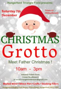 Santa's Grotto @ Hungerford Rugby Club, Triangle Field, Hungerford | England | United Kingdom