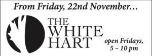 The White Hart at Hamstead Marshall has re-opened on Fridays @ The White Hart | Hamstead Marshall | England | United Kingdom