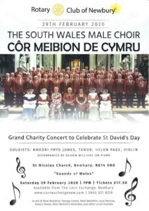 St David's Day Charity Concert with South Wales Male Choir @ St Nicholas Church | England | United Kingdom