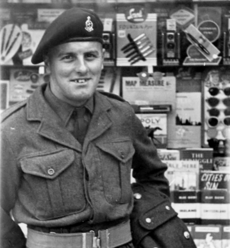 George in the RAMC, 1953