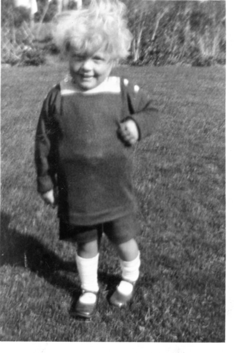 George aged about 2 years old