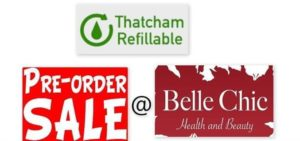 Thatcham Refillables Pre-Order Shop @ Belle Chic, Hungerford