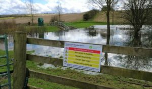 Eastbury flood alleviation scheme