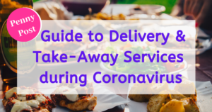 guide to delivery and take-away services during coronavirus