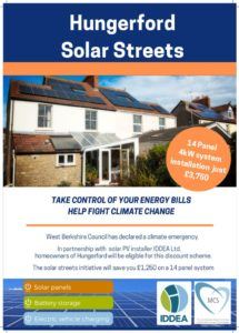 Solar Panel Discount Information Evening