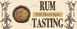 Rum Tasting @ The Cob and Pen Cocktail Bar |  |  |