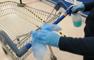 hygiene cleaning during coronavirus
