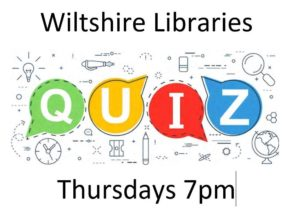 Quiz Night With Wiltshire Libraries @ Online - Facebook