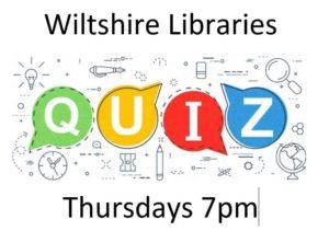 Quiz Night With Wiltshire Libraries @ Online - Facebook