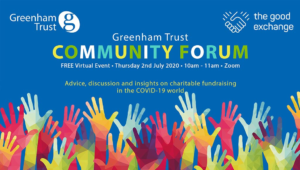Greenham Trust Community Forum @ Zoom online call