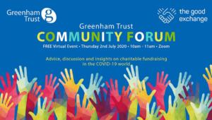 Greenham Trust Community Forum @ Zoom online call