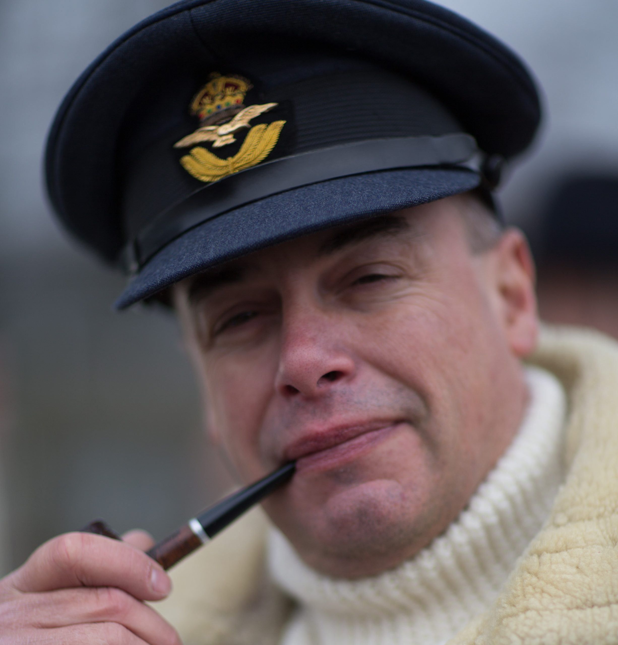 RAF is a popular portrayal not least because there is ample research material available for the re-enactor to draw upon.