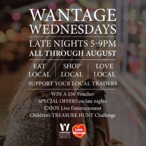 Wantage Wednesdays Late Night Shopping @ England | United Kingdom