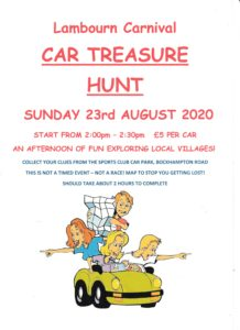Car Treasure Hunt @ Sports Club | Lambourn | England | United Kingdom