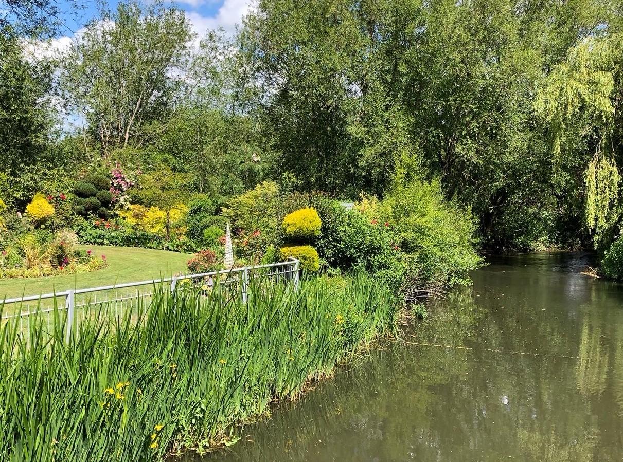 Garden Island river
